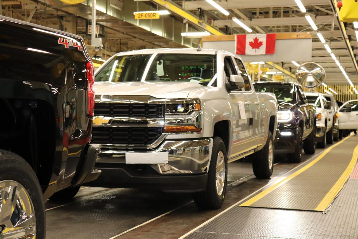 جنرال موتورز توقف الإنتاج في مصانع أمريكا الشمالية
