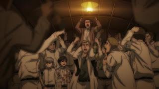進撃の巨人アニメ第4期61話 闇夜の列車   Attack on Titan The Final Season Episode 61