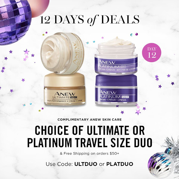 LAST BUT NOT LEAST The 12th day of 12 Days of Deals. CHOICE OF ULTIMATE OR PLATINUM TRAVEL SIZE DUO & FREE SHIPPING ON ORDERS $50+. USE CODE: ULTDUO OR PLATDUO. EXPIRES MIDNIGHT TONIGHT 11/22/19. SHOP NOW >>>