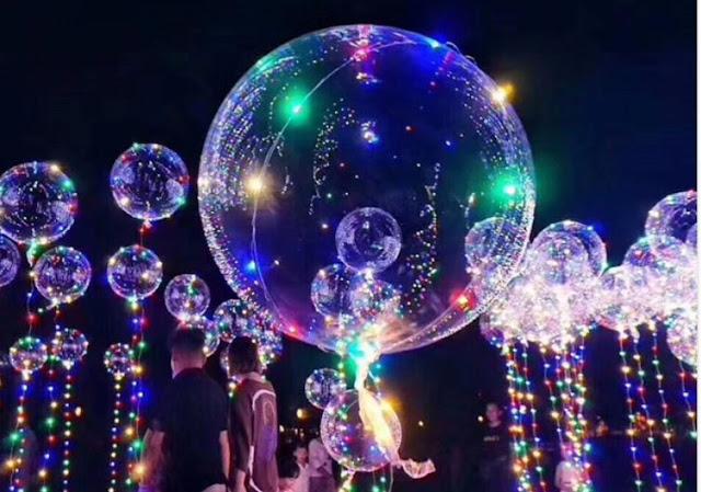 Уфимцы зажгут волшебные шарики