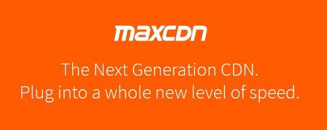 MaxCDN is used for increasing page speed