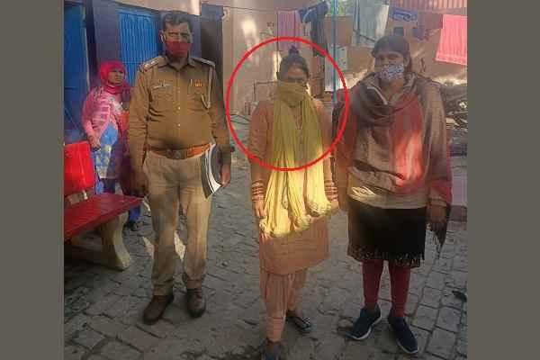 gadpuri-thana-sab-inspector-hanish-khan-good-work-missing-women-recovered