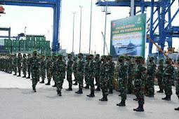 Agus Rohman Pimpin Upacara Rotasi Satgas BKO ABK Kapal ADRI XXXVI