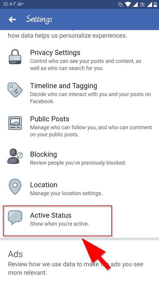 Facebook Online Active Status Ko Hide Kaise Kare? | My Hindi