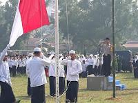 Kapolres Sarolangun AKBP Deny Heryanto SIK, MSI Pimpin Upacara Hari Santri ke IV