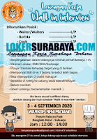 Walk In Interview at Warkop Ben Padang Surabaya September 2020