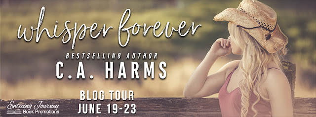 [Blog Tour] WHISPER FOREVER by CA Harms @charms0814 @EJBookPromos #UBReview