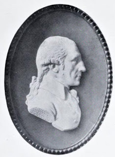 Wedgwood cameo of Robert Adam  from The architecture of Robert and   James Adam by AT Bolton (1922)