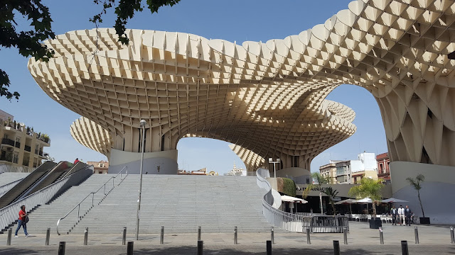 Setas de Sevilla, Metropol Parasol, Sevilla, Andalucía, España, Elisa N, Blog de Viajes, Lifestyle, Travel