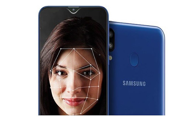 Face unlock Samsung M20 dan Fingerprint Samsung M20