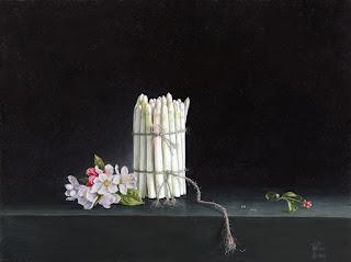 Asperagus with blossom