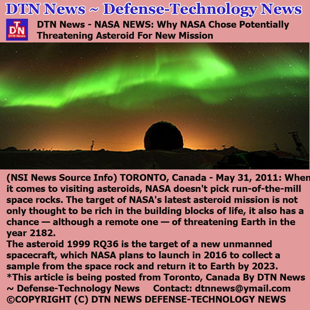 Pictures of The Day: DTN News - NASA NEWS: Why NASA Chose ...