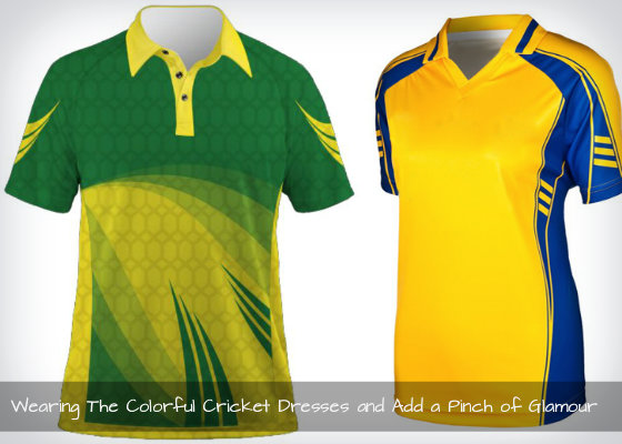 Colorful Cricket Dresses