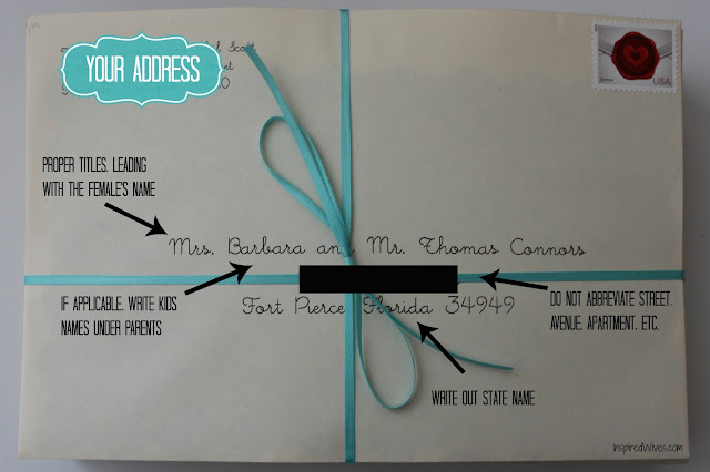 When Do You Send Out Save The Date: Inspired I Dos: How To Address Wedding Save The Dates And