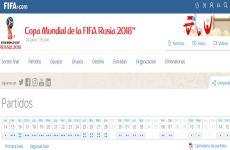 Fixture y Calendario del Mundial de Rusia 2018 online: grupos, estadios y horarios de la Copa del Mundo para descargar en PDF
