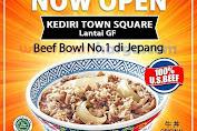 Promo Yoshinoya Grand Opening Kediri Town Square Periode 18 - 31 Januari 2020