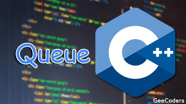 كود للتطبيق على Queue بإستخدام linked list بلغة c++