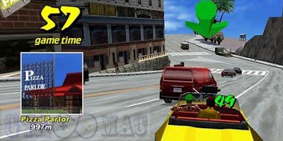 تنزيل لعبة كريزي تاكسي السائق المجنون القديمة للكمبيوتر والاندرويد