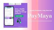 Spotify Premium 7-day free trial through PayMaya