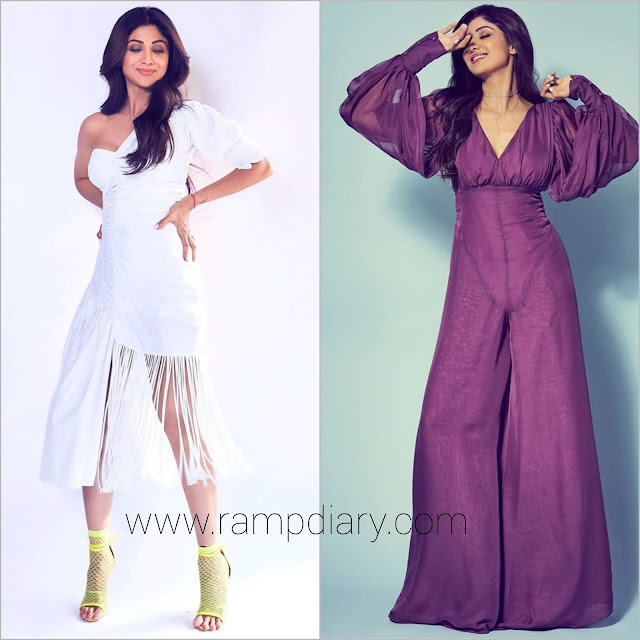 Shilpa Shetty in Two Looks