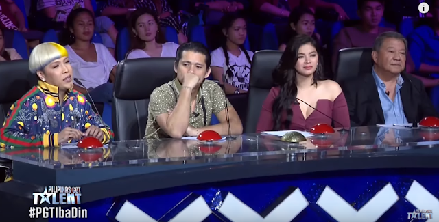 A Well-Deserved 'Golden Buzzer' Was Given By Angel Locsin To Julius And Rhea's Unconditional Talent!
