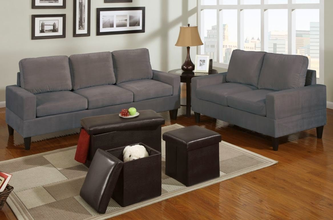 gray microfiber sectional sofas sleek sofa sets for small flats india grey couch