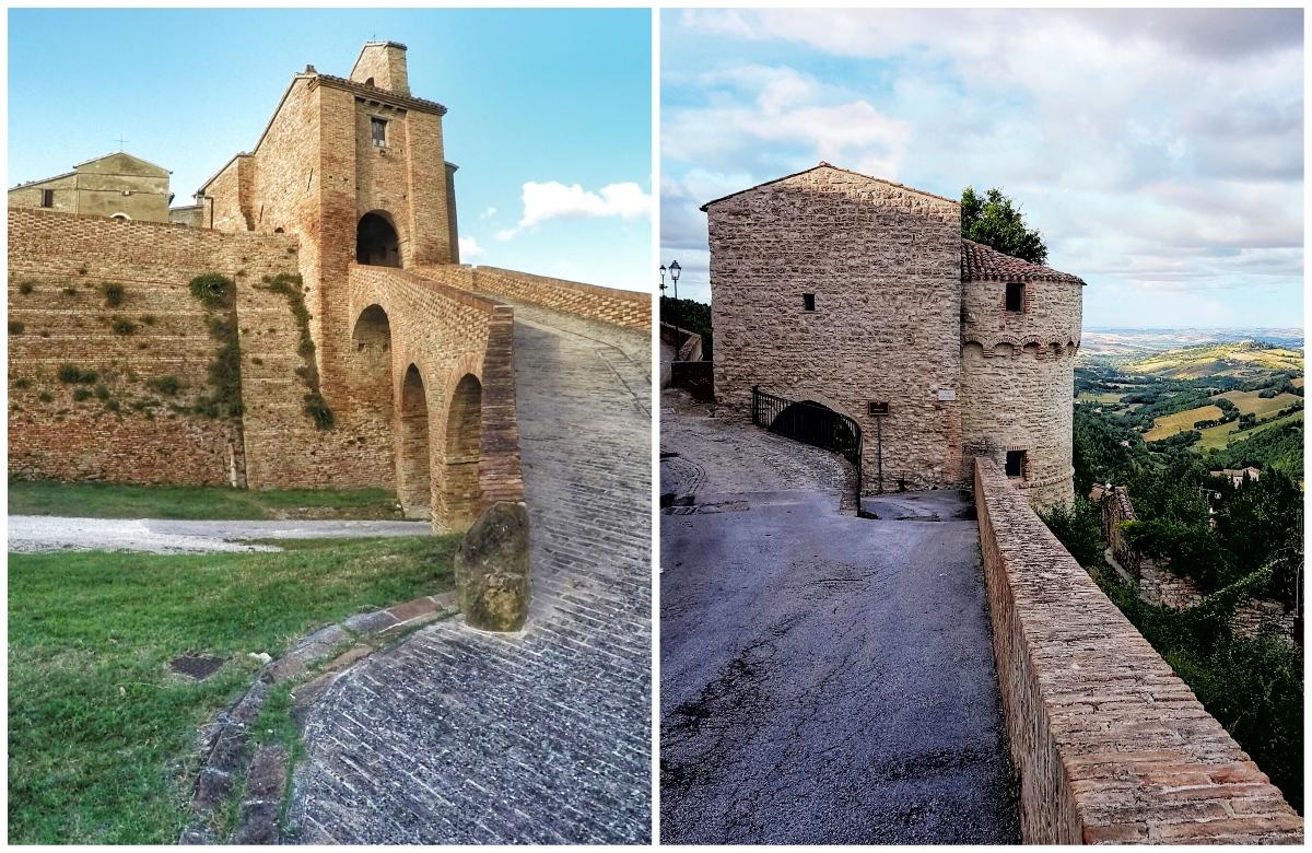 castelli Arcevia e Loretello