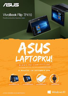 Asus Laptopku Blogging Competition by uniekkaswarganti.com