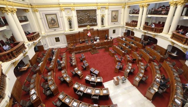 Pleno del Congreso aprueba la eliminación de la inmunidad parlamentaria