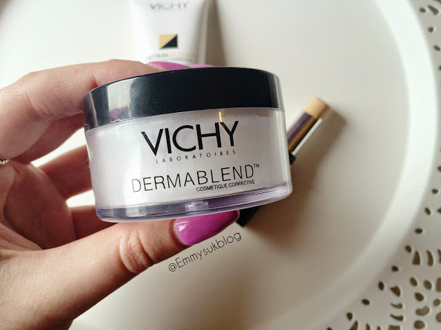 Vichy Dermablend Finishing Powder Review