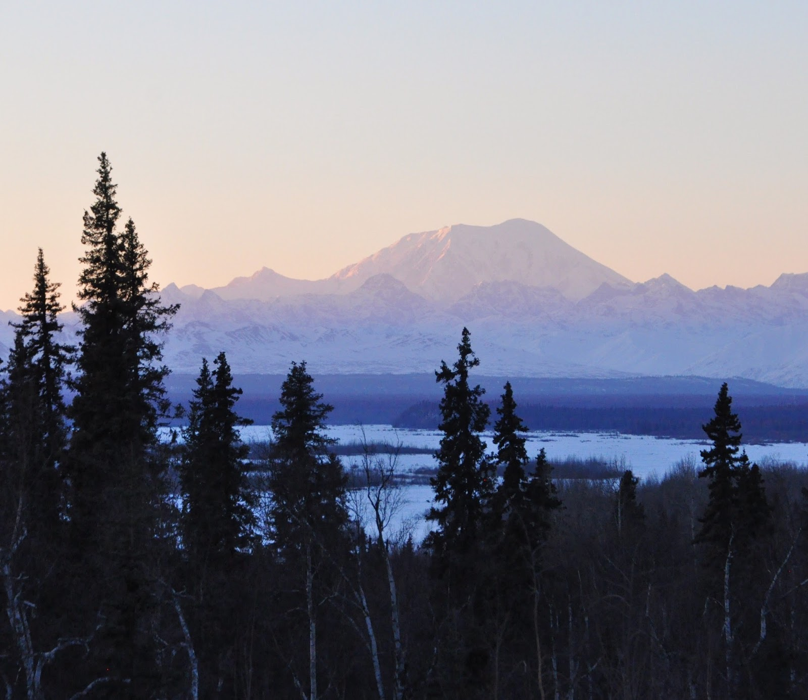 talkeetna lodge alaska range view