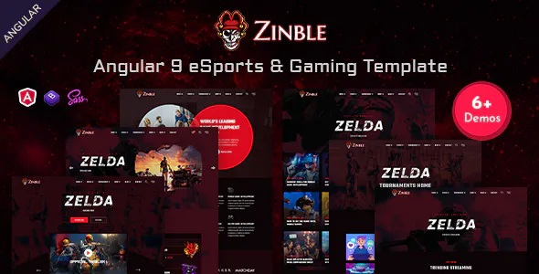 Best eSports & Gaming Template
