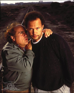 Danny Devito Billy Crystal in Throw Momma from the Train 1987 comedy