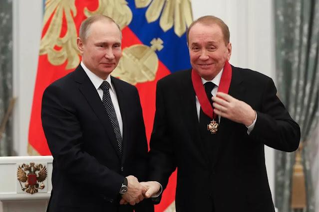 Масляков и Путин