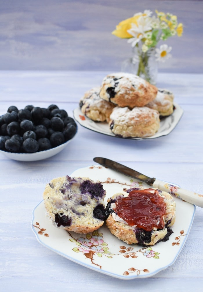 Blueberry Lemonade Scones