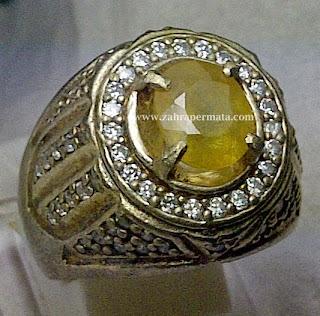 Batu Permata Yellow Saphire - ZP 269