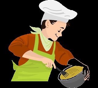Boy cooking png image