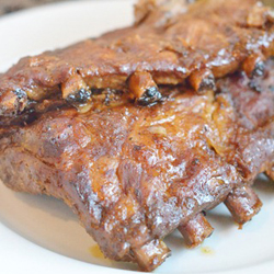 Crockpot Barbeque Ribs