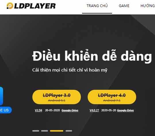 Tải LDPlayer 4.0.23 mới nhất - Giả lập Android cho PC Windows a