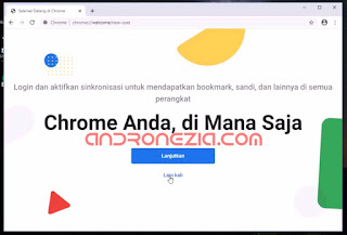 Menginstal Google Chrome di laptop