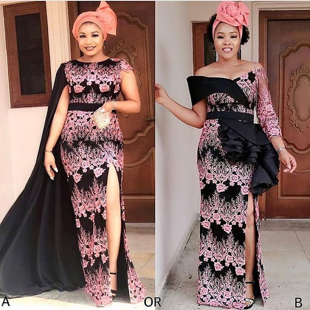 2019 Cute and Lovely Asoebi Styles