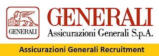 Assicurazioni Generali Recruitment 2017-2018