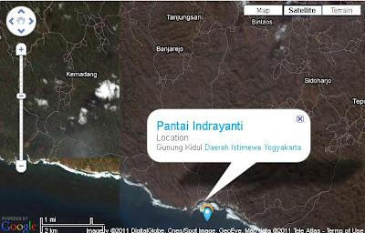 nama pantai itu Pantai Indrayanti