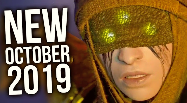 Check out the top games to be released in October 2019