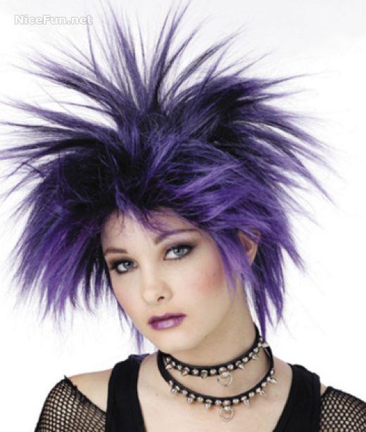 Formas modernas de peinados locos Galería de tendencias de coloración del cabello - Peinados De Fiesta: Peinados locos