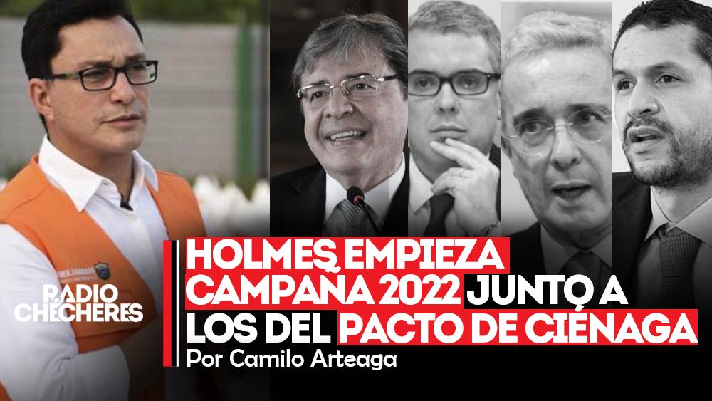 Holmes empieza campaña 2022 junto a los del Pacto de Ciénaga