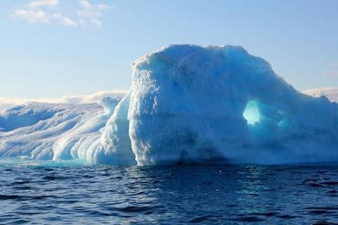 Szakértő: aggasztó a gyors jégolvadás