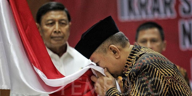 Eks Harokah Islam, DI/TII hingga NII Ikrar Setia Pancasila di Depan Wiranto