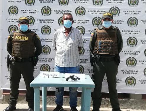 hoyennoticia.com, En Maicao un anciano fue capturado por hacer disparos al aire