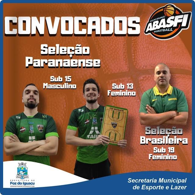 Técnicos de Foz do Iguaçu foram convocados para compor a comissão técnica da Seleção Paranaense de Basquete